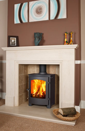 Flu Less Gas Fires Stoves With Flame Effects Coals Logs Pebbles
